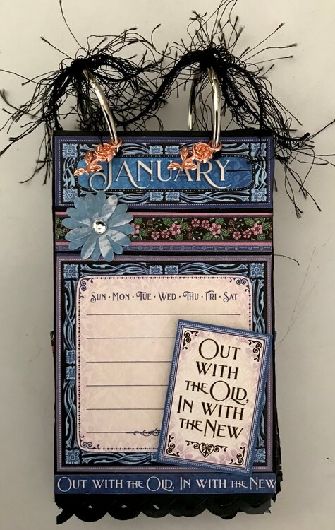 Flip Tag Calendar