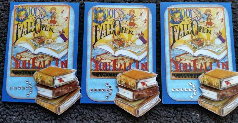 Fall into Books ATC