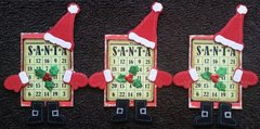 I can't live without ........Santa ATCs