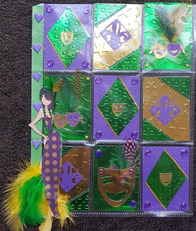 Mardi Gras Pocketletter