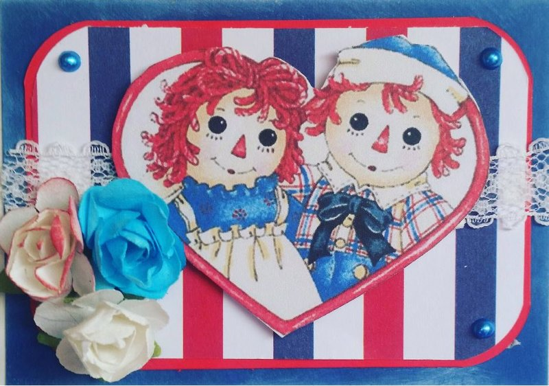 Raggedy Anne and Raggedy Andy ATC