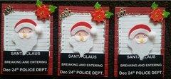 Busted Santa!