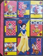 Snow White Pocket letter