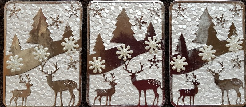 Winter Frost ATCs