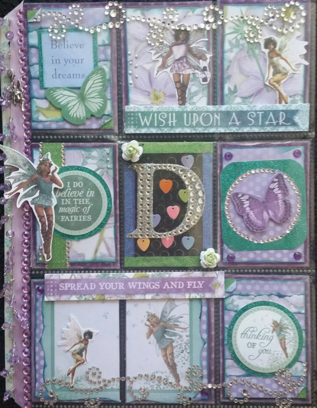 Fairies Pocket Letter