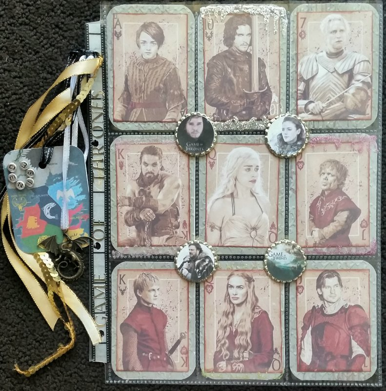 Game of thrones pocket letter front