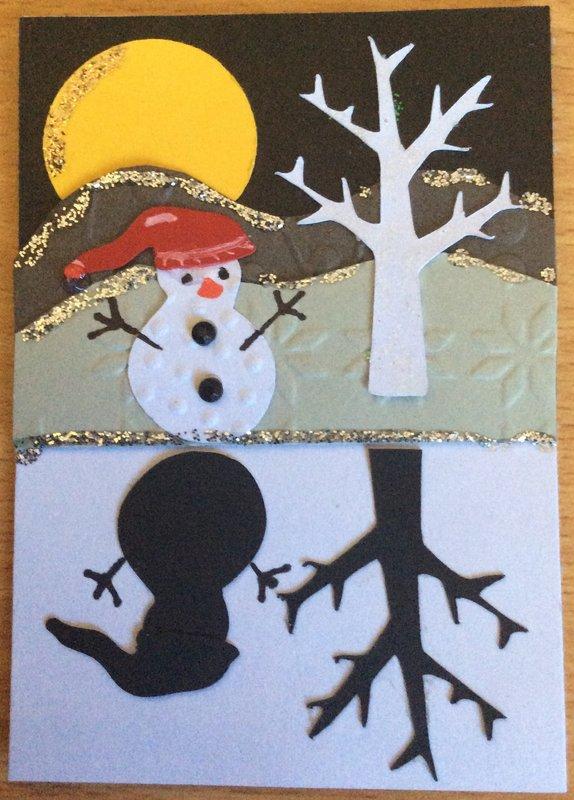 Snowman Shadow ATC