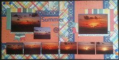 Summer sunrise @ sea