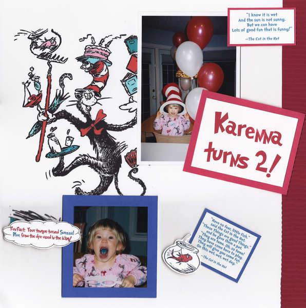 Karenna turns 2 - page 1