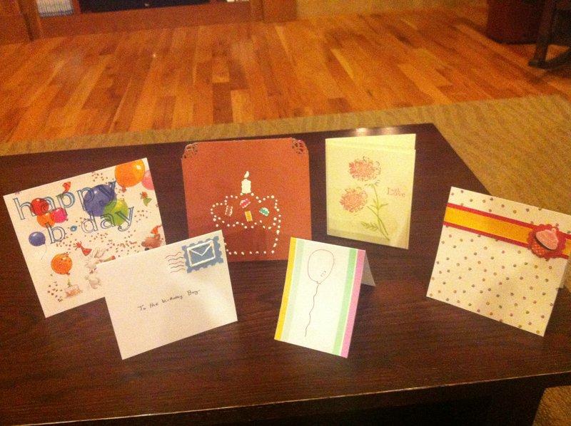 Birthday Cards by Karenna