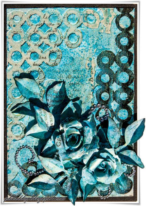 Teal Card
