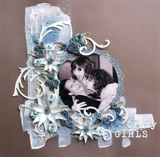 Crazy Girls - Swirly Hues January 2012