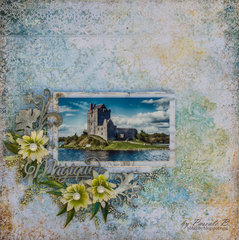 Duncaire Castle - Blue Fern Studio DT