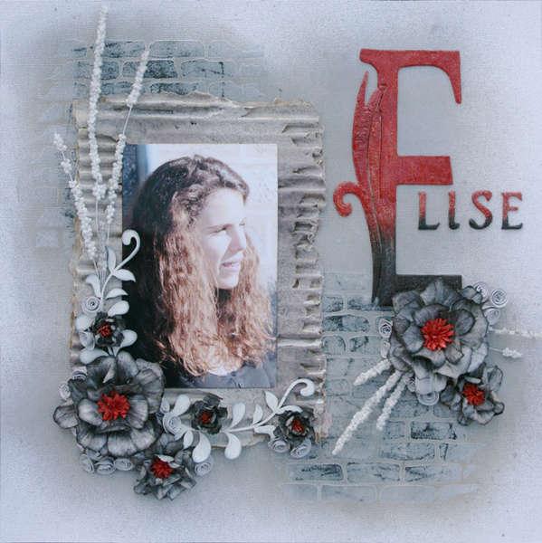Elise - TCR #86 - Girliy Grunge Challenge November 2011