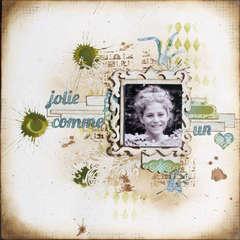 Jolie comme un  ...  - TCR#124