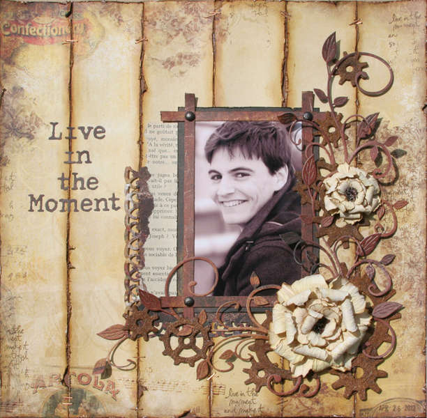 Live in the Moment - June SwirlyHues Challenge