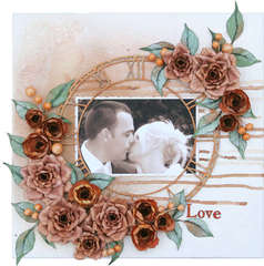 Love - Dusty Attic challenge - November 2011