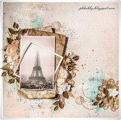 Eiffel Tower - Green Tara DT