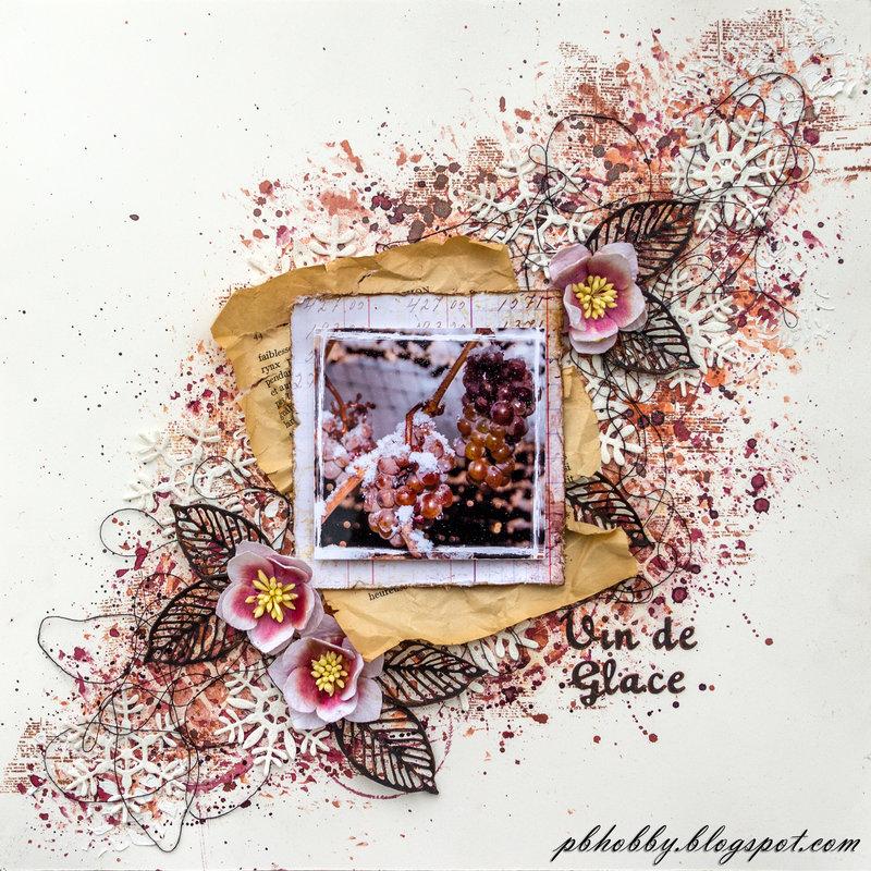 Vin de Glace - Mixed Media Place DT
