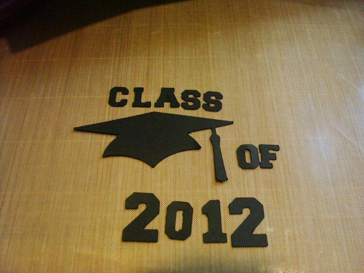 May/June Die Cut swap-Graduation