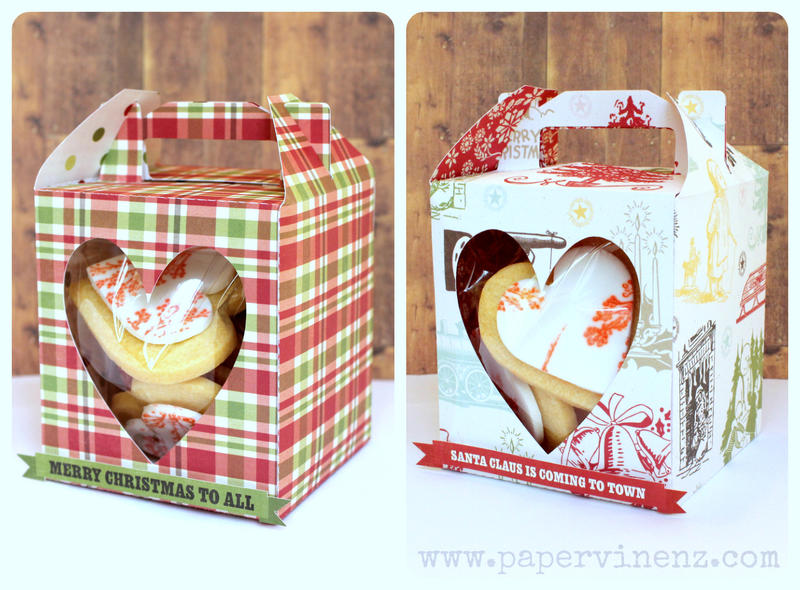 Gift Boxes and Cookie Tutorial