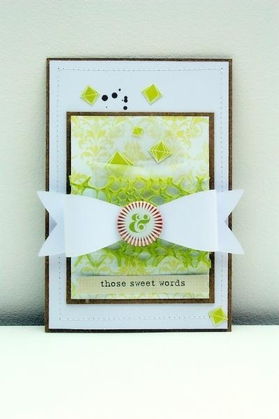 Those sweet words ***Citrus Twist Kits***
