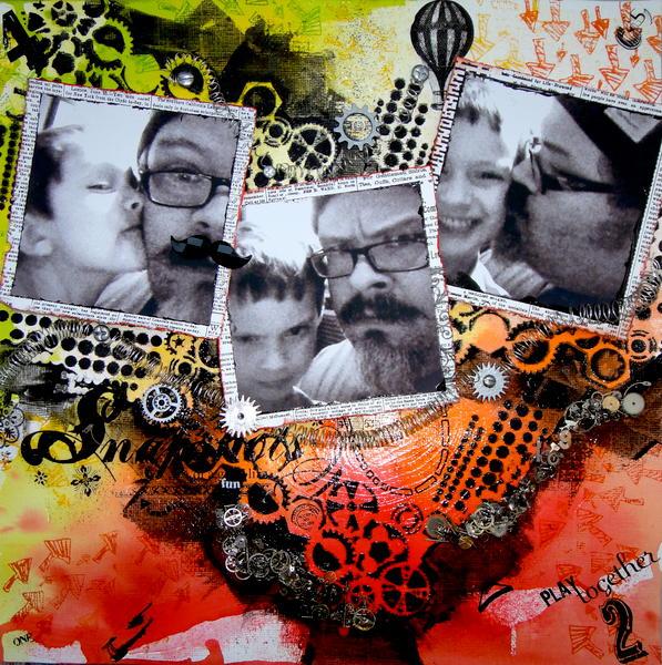 Snapshots ~ Punky Scraps