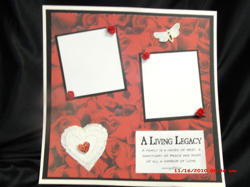 Legacy of Love premade 12x12 pages