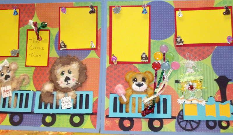 circus train tare animals