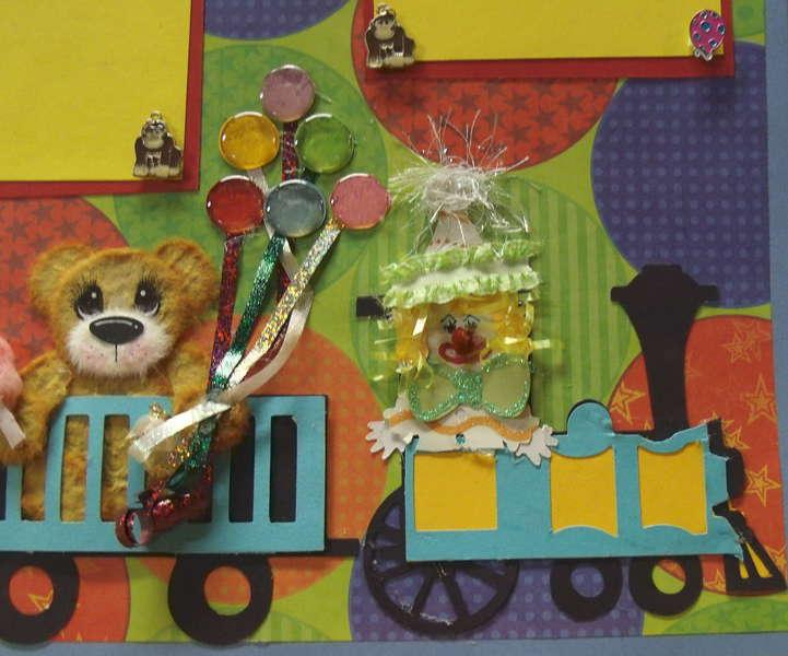 "Circus Train ""Tare Animals"""
