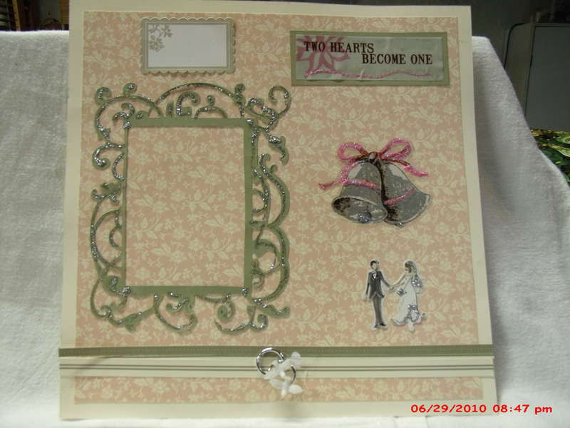 Wedding Bliss 12x12 pages