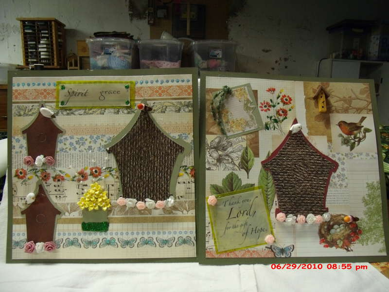 Birdhouse Home tweet Home pages