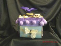 pretty bird explosion box