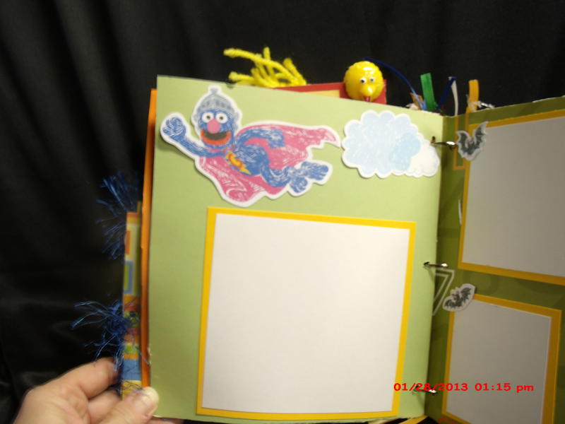 Sesame Street paperbag mini album