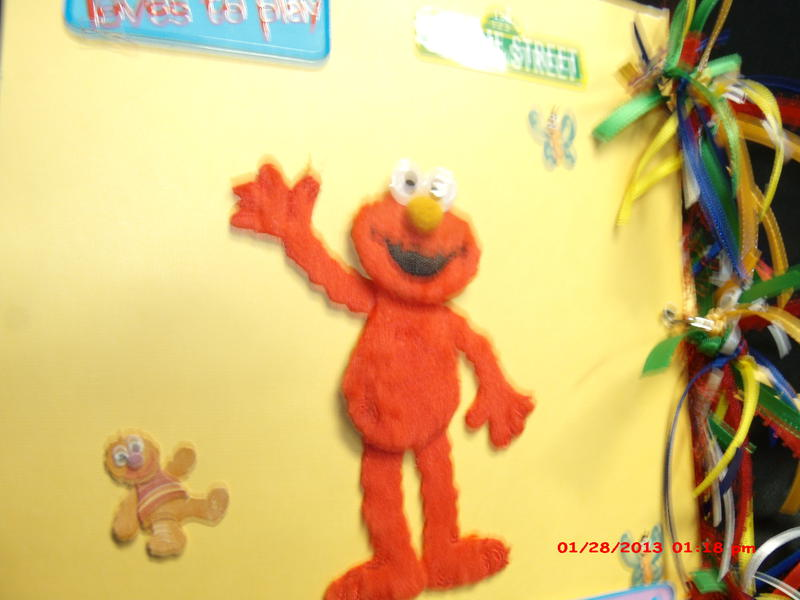 Sesame Street mini paperbag mini album 8x8