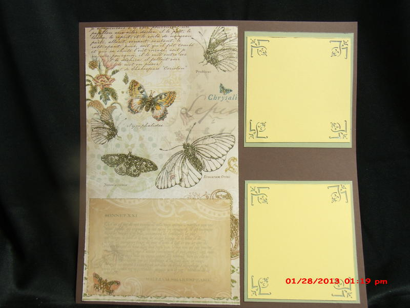Natures Peace 12x12 layout