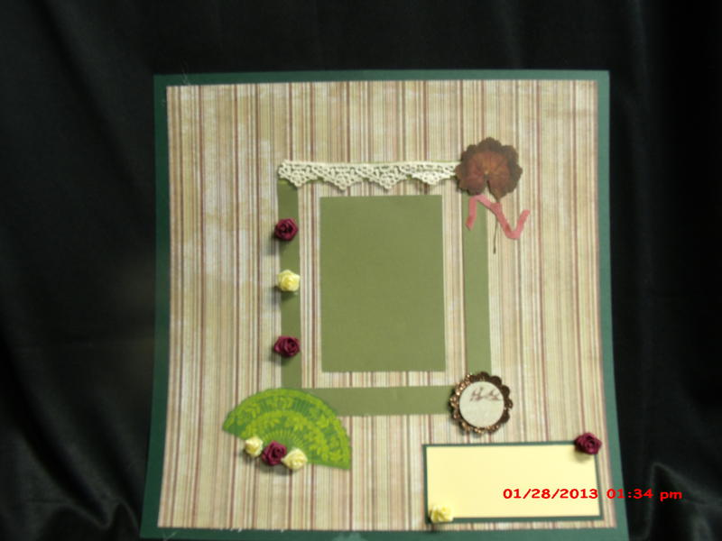 God's Gift of Family 12x2 layout