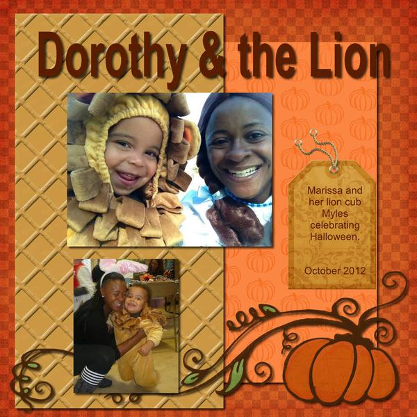 Dorothy & the Lion