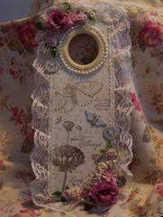 Shabby Chic**Altered Door Hanger