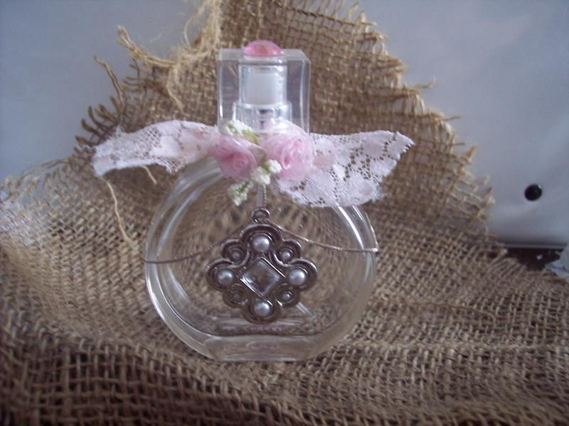 Shabby Chic**Altered Perfume Bottle