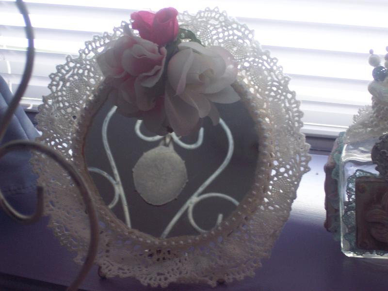 Shabby Chic**Altered Mirror