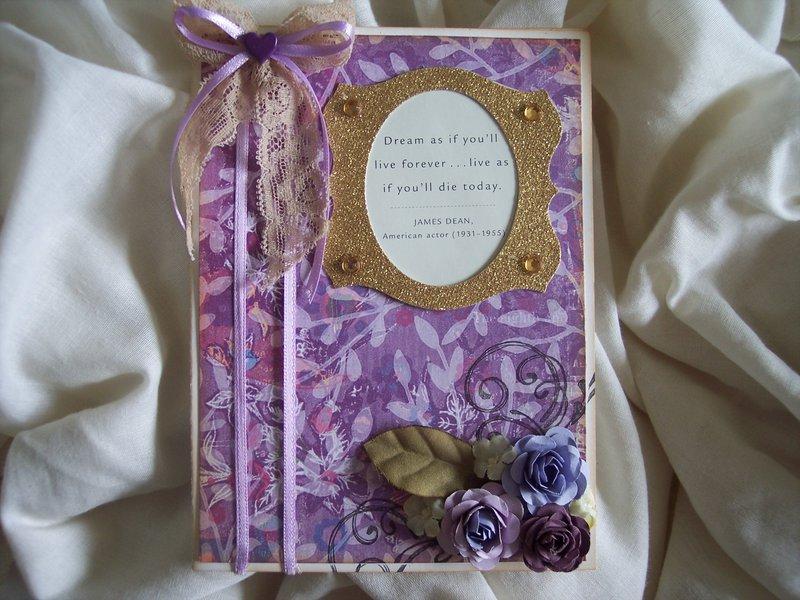 Purple Chic**Homemade Card