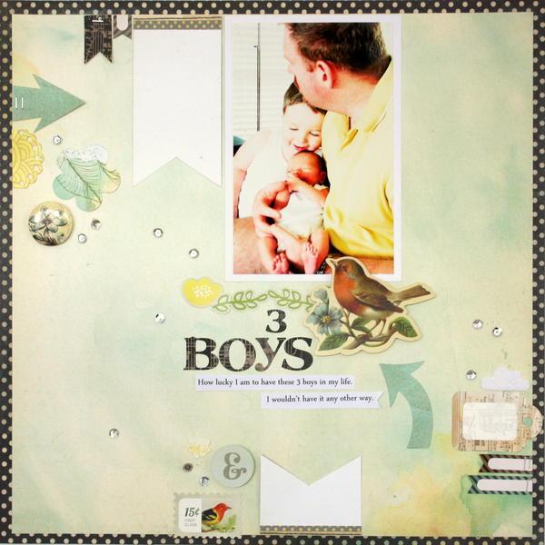 3 boys * BasicGrey* Serenade
