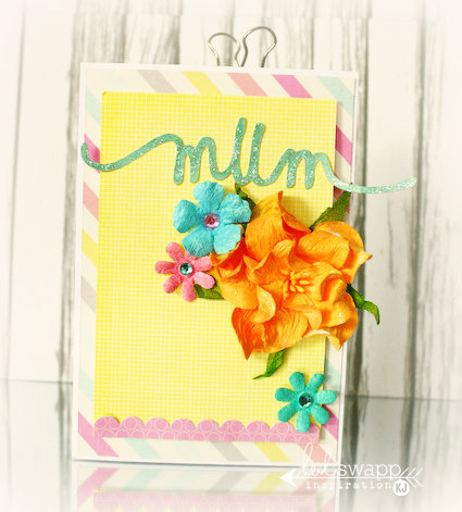 Mothers Day Card *Heidi Swapp*