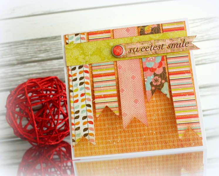 smile card * Basic Grey Konnichiwa*