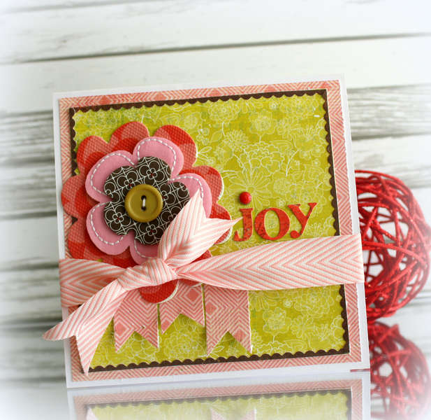 joy card * Basic Grey Konnichiwa*