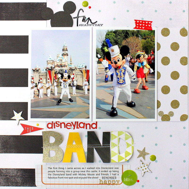 Disney Land *Heidi Swapp* Project Life