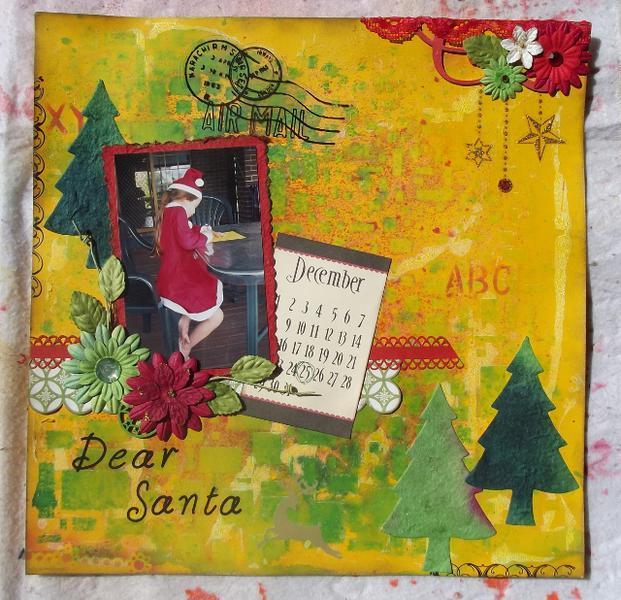 Dear Santa ...