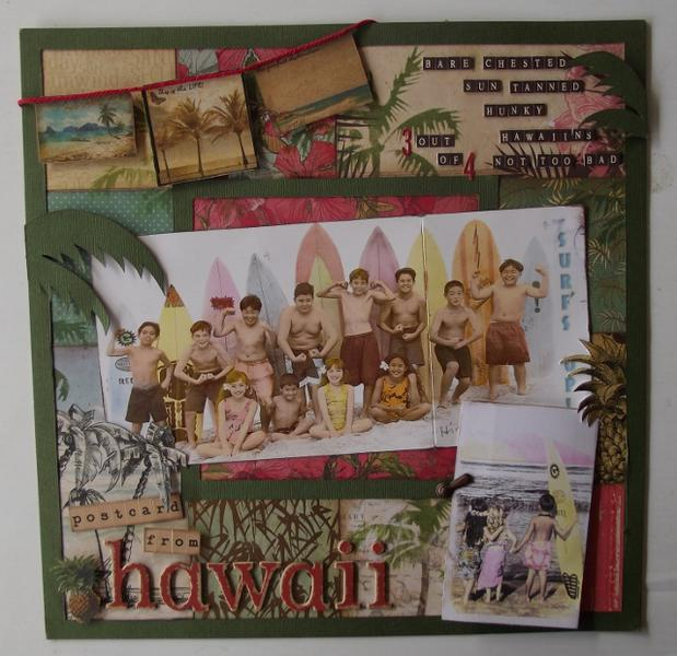 Postcard from Hawaii.