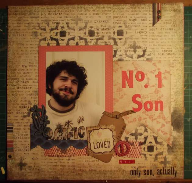 No 1 son..